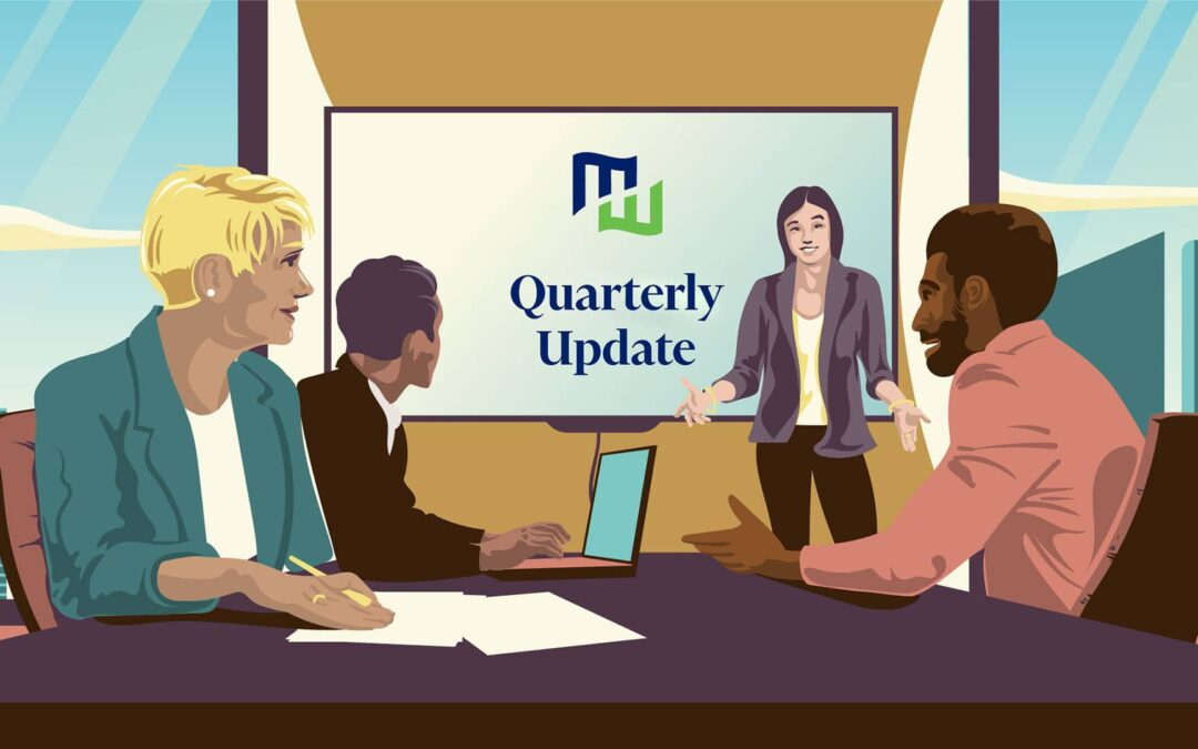 First Quarter 2021 Update